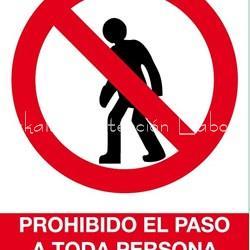Senal Prohibido El Paso A Toda Persona Ajena A La Obra Senales De